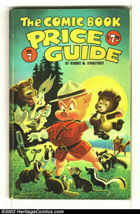 Overstreet Price Guide #7 (Gemstone, 1977) Condition: GD 2.0. Carl Barks Porky Pig cover.Overstreet 2002 NM 9.4 value =...