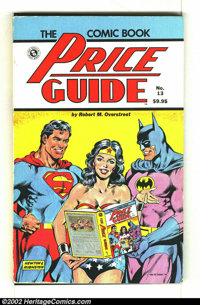 Overstreet Price Guide #13 (Gemstone, 1983) Condition: G/VG 3.0. Softcover. Infinity cover. Superman, Batman and Wonder...