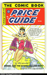 Overstreet Price Guide #14 (Gemstone, 1984) Condition: G/VG 3.0. Softcover. Bill Woggon Katy Keene cover. Spine wear. Ov...