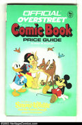 Memorabilia:Comic-Related, Overstreet Price Guide #17 (Gemstone, 1987) Condition: G/VG 3.0. Softcover. Ron Dias painted cover of Snow White, Mickey Mou...
