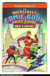 Overstreet Price Guide #23 (Gemstone, 1993) Condition: VG 4.0. Flash, Golden age and silver age Green Lantern cover. Spi...