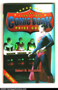 Overstreet Price Guide #29 (Gemstone, 1999) Condition: FN- 5.5. Softcover. Alex Ross Adventure #247 cover swipe of the L...