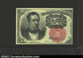 Fractional Currency:Fifth Issue, Fifth Issue 10c, Fr-1265, Choice AU. This long key variety is ...