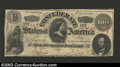 Confederate Notes:1863 Issues, 1863 $100 Lucy H. Pickens; Two Soliders on left; George W ...