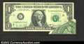 Error Notes:Foldovers, 1977-A $1 Federal Reserve Note, Fr-1910-C, Very Fine-Extremely ...
