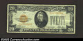 Small Size:Gold Certificates, 1928 $20 Gold Certificate, Fr-2402, VF. This is an attractive ...
