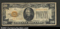 Small Size:Gold Certificates, 1928 $20 Gold Certificate, Fr-2402, Fine-VF. This is a very ...