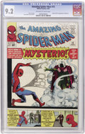 Silver Age (1956-1969):Superhero, The Amazing Spider-Man #13 (Marvel, 1964) CGC NM- 9.2 Off-whitepages....