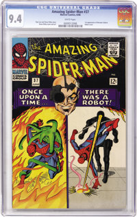 The Amazing Spider-Man #37 (Marvel, 1966) CGC NM 9.4 White pages
