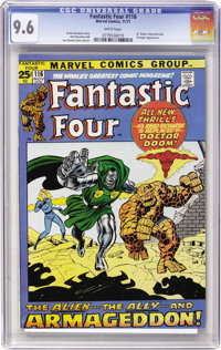 Fantastic Four #116 (Marvel, 1971) CGC NM+ 9.6 White pages