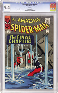 The Amazing Spider-Man #33 (Marvel, 1966) CGC NM 9.4 White pages