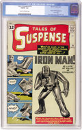 Silver Age (1956-1969):Superhero, Tales of Suspense #39 (Marvel, 1963) CGC FN/VF 7.0 Cream to off-white pages....