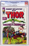 Silver Age (1956-1969):Superhero, Journey Into Mystery #115 (Marvel, 1965) CGC NM+ 9.6 Off-white to white pages....
