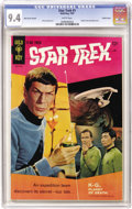 Silver Age (1956-1969):Science Fiction, Star Trek #1 Back Cover Variant - Pacific Coast pedigree (Gold Key, 1967) CGC NM 9.4 White pages....