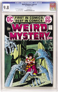 Bronze Age (1970-1979):Horror, Weird Mystery Tales #1 (DC, 1972) CGC NM/MT 9.8 White pages....