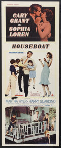"Movie Posters:Romantic Comedy, Houseboat (Paramount, 1958). Insert (14"" X 36""). Romantic Comedy.Starring Cary Grant, Sophia Loren, Martha Hyer and Harry G..."