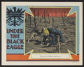 """Movie Posters:War, Under the Black Eagle (MGM, 1928). Lobby Card (11"""" X 14""""). War.Starring Ralph Forbes, Flash the Dog, Marceline Day, Bert Ro..."""