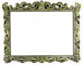 Furniture , An Italian Silvered and Giltwood Frame. Unknown maker, Italian. Seventeenth century. Silvered and gilt wood. Unmarked. 53....