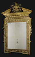 Furniture, A Monumental Giltwood Mirror. Unknown maker, English. Late eighteenth/early nineteenth century. Giltwood. Unmarked. 82 inc...