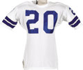 Football Collectibles:Uniforms, Early 1970's Mel Renfro Game Worn Jersey. He was the consummate defensive back throughout his fourteen-season career, spent...