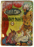 "Golden Age (1938-1955):Classics Illustrated, Classic Comics #8 Arabian Nights First Edition - Davis Crippen (""D""Copy) pedigree (Gilberton, 1943) Condition: FR...."