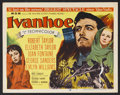 "Movie Posters:Adventure, Ivanhoe (MGM, 1952). Title Lobby Card (11"" X 14""), Lobby Cards (4)(11"" X 14"") and Deluxe Lobby Cards (3) (11"" X 14""). Adven..."