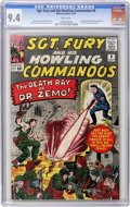 Silver Age (1956-1969):War, Sgt. Fury and His Howling Commandos #8 (Marvel, 1964) CGC NM 9.4 White pages....