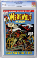 Bronze Age (1970-1979):Horror, Werewolf by Night #2 (Marvel, 1972) CGC NM/MT 9.8 White pages....
