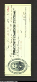 Miscellaneous:Checks, Denver, CO - August 31, 1899. A receipt from Pinkerton's ...