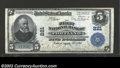 National Bank Notes:Maine, Portland, ME - $5 1902 Plain Back Fr. 598 First NB Ch. ...