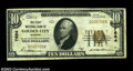 National Bank Notes:Missouri, Golden City, MO - $10 1929 Ty. 1 The First NB Ch. # ...
