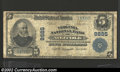 National Bank Notes:Virginia, Norfolk, VA - $5 1902 Plain Back Fr. 601 Virginia NB Ch. #...