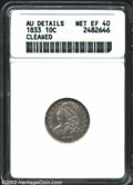 Bust Dimes: , 1833 10C XF40 ANACS. The current Coin Dealer Newsletter (...