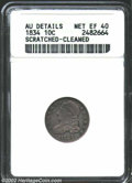 Bust Dimes: , 1834 10C Small 4 XF40 ANACS. The current Coin Dealer ...