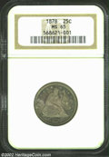 Seated Quarters: , 1878 25C MS65 NGC. The current Coin Dealer Newsletter (...