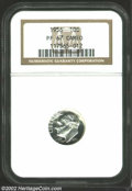 Proof Roosevelt Dimes: , 1956 10C PR 67 Cameo NGC. ...