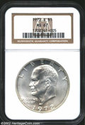Eisenhower Dollars: , 1972-S $1 Silver MS67 NGC. ...