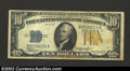 Small Size:World War II Emergency Notes, 1934-A $10 North Africa Silver Certificate, Fr-2309, VF. This ...