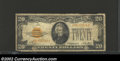 Small Size:Gold Certificates, 1928 $20 Gold Certificate, Fr-2402, Fine. This well ...