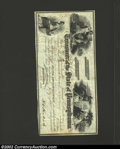 Miscellaneous:Checks, 1858 $60.80 State of Pennsylvania Warrant, Extremely Fine, CC. ...