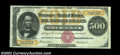 Large Size:Gold Certificates, Fr. 1216b $500 1882 Gold Certificate Very Fine-Extremely ...