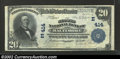 National Bank Notes:Maryland, Baltimore, MD - $20 1902 Plain Back Fr. 650 Second ...