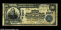 National Bank Notes:Mississippi, Meridian, MS - $10 1902 Plain Back Fr. 624 The First NB...