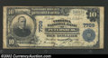 National Bank Notes:Virginia, Petersburg, VA - $10 1902 Plain Back Fr. 624 Virginia ...