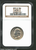 Washington Quarters: , 1932-D 25C MS61 NGC. Sharply struck and lightly toned but ...
