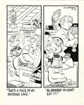 Original Comic Art:Comic Strip Art, Hank Ketcham - Dennis the Menace Daily Comic Strip Original Art, dated 9-16-74 (Field Newspaper Syndicate, 1974)....