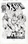 Original Comic Art:Covers, Brandon Peterson and Tim Townsend - The Astonishing X-Men #1 CoverOriginal Art (Marvel, 1999)....