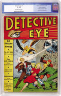 Golden Age (1938-1955):Adventure, Detective Eye #1 Cosmic Aeroplane pedigree (Centaur, 1940) CGC VG 4.0 Off-white to white pages....