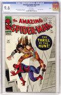 Silver Age (1956-1969):Superhero, The Amazing Spider-Man #34 Curator pedigree (Marvel, 1966) CGC NM+ 9.6 White pages....