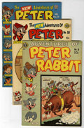 "Golden Age (1938-1955):Funny Animal, Peter Rabbit Comics #8, 10 and 13 Group Davis Crippen (""D"" Copy)pedigree (Avon, 1950-52).... (Total: 3)"